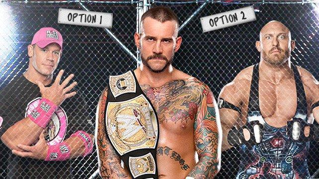 John Cena or Ryback?