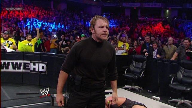 WWE Survivor Series 2012 results John Cena CM Punk Ryback WWE NXT