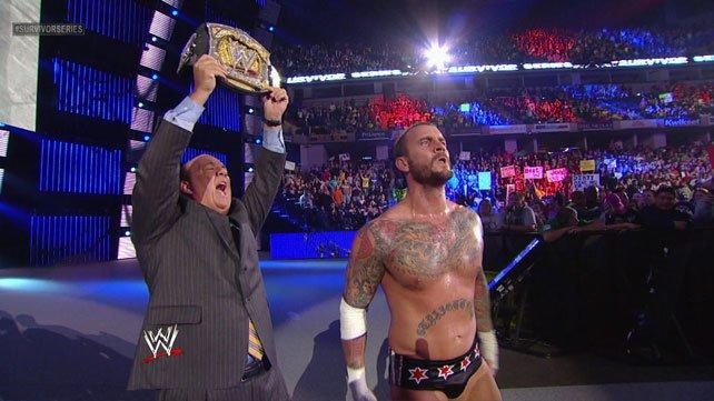 WWE Survivor Series 2012 results CM Punk John Cena Ryback Dean Ambrose Seth Rollins