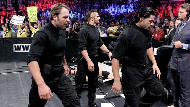 Roman Reigns Seth Rollins Dean Ambrose