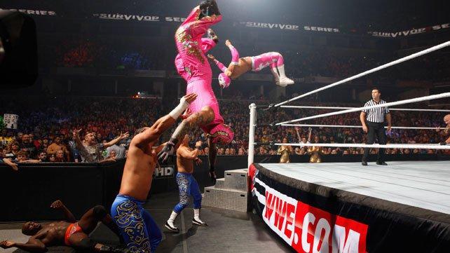 Survivor Series 2012 Tag Team Elimination Match