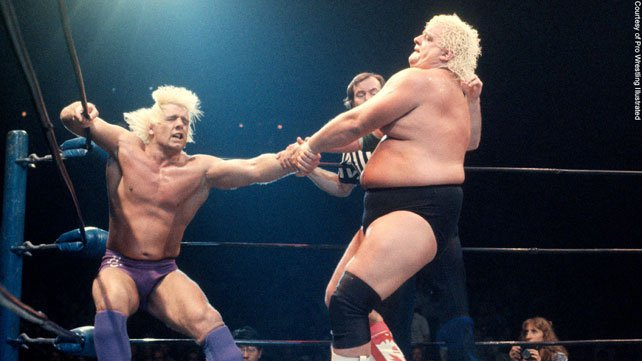 Dusty Rhodes vs. Ric Flair
