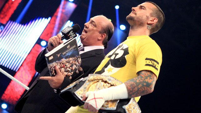 WWE Champion CM Punk