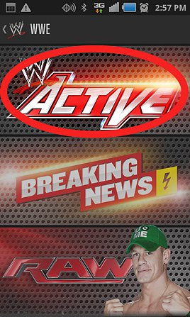 WWE Active on the WWE App