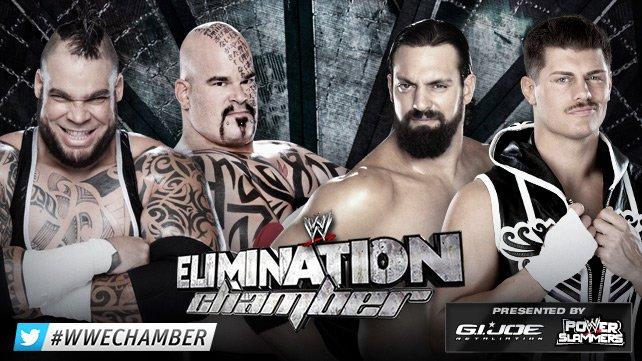Матч на Pre-Show Elimination Chamber