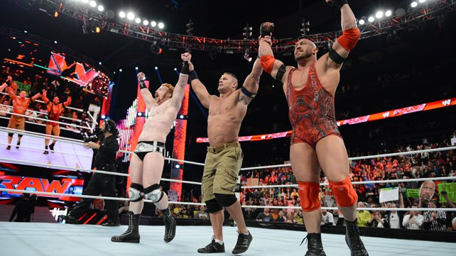 John Cena and Ryback