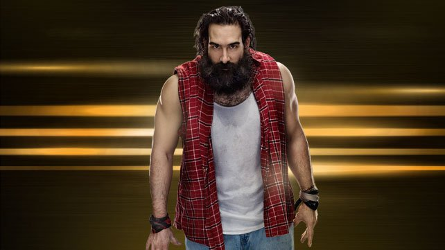 Luke Harper with a weight of 125 kg and a feet size of N/A in favorite outfit & clothing style