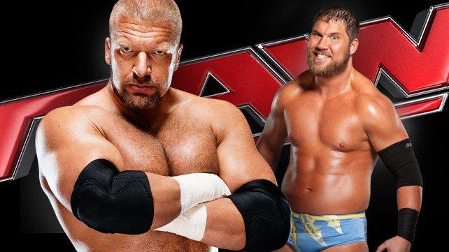 Triple H vs. Curtis Axel