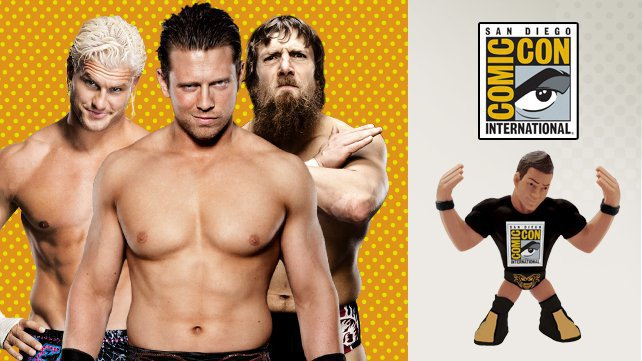 WWE at Comic-Con International 2013