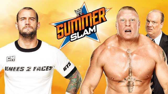 CM Punk faces Paul Heyman client Brock Lesnar at SummerSlam