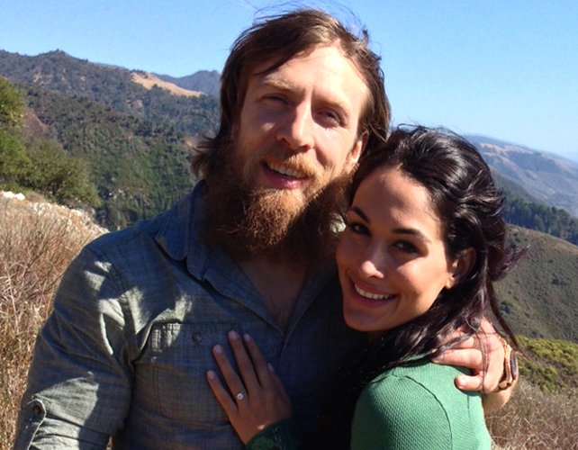 Daniel Bryan Daughter Brie Daniel Bryan Engaged