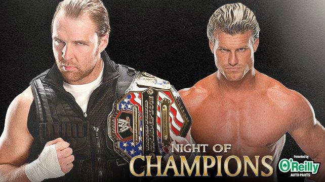 WWE United States Championship Match