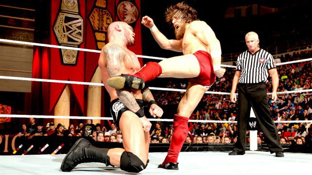At Night of Champions 2013, Daniel Bryan challenged WWE Champion Randy Orton