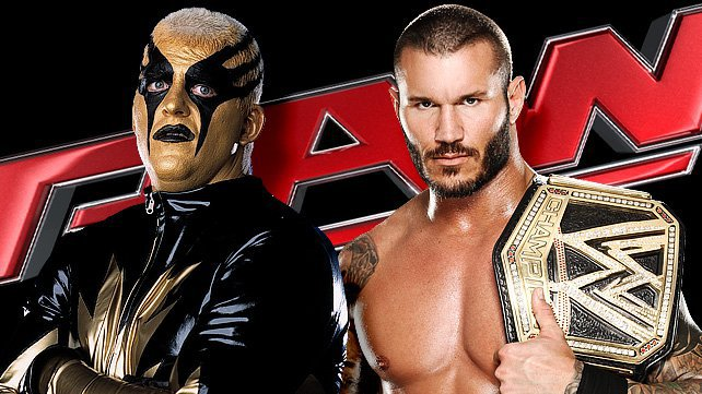 Dustin Rhodes vs. Randy Orton