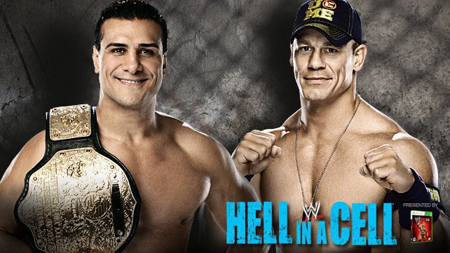 Cartel WWE Hell In A Cell 2013 20131007_HIAC_DelRio_Cena_HOMEPAGE