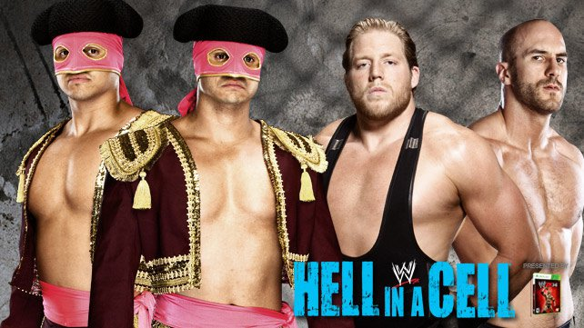 Cartel WWE Hell In A Cell 2013 20131021_HIAC_Matadores_Americans_HOMEPAGE