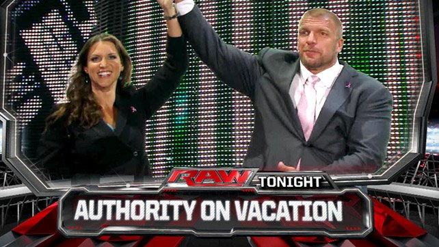 The Authority is on vacation