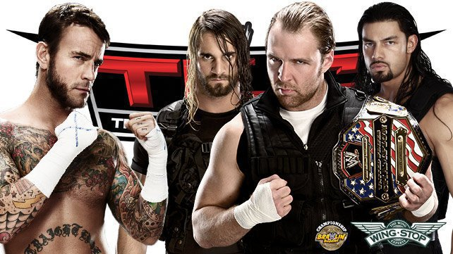 CM Punk vs. The Shield