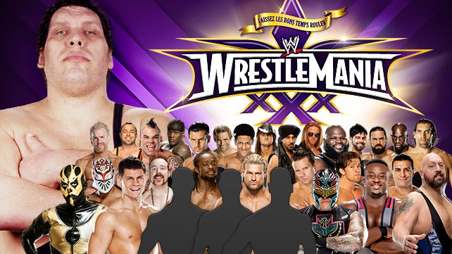 Confirmed and Potential Matches for WWE WrestleMania XXX 20140331_AndreCup_Match_LIGHT_HP