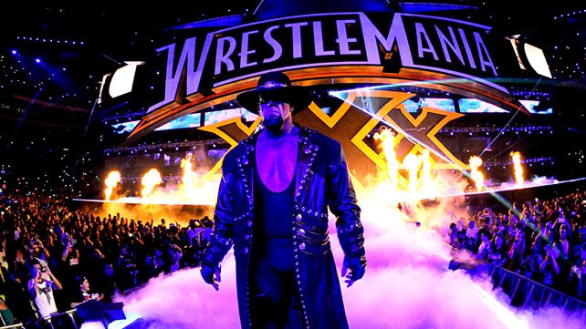 The Undertaker blessé à WrestleMania 30