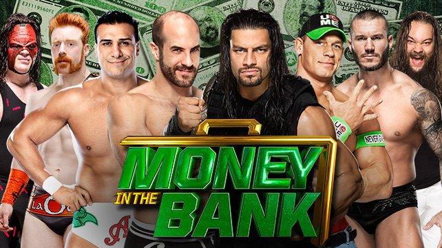 Money in the Bank 2014: Wyniki