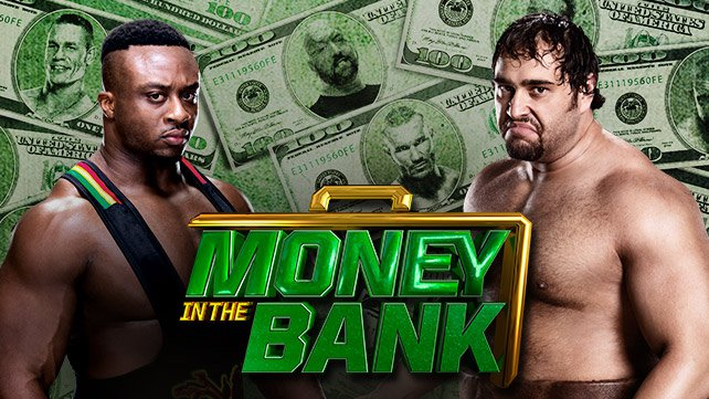 Big E vs. Rusev at Money in the Bank