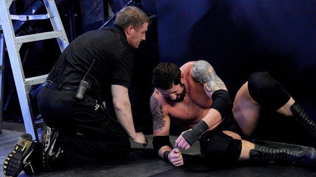 Bad News Barrett injured