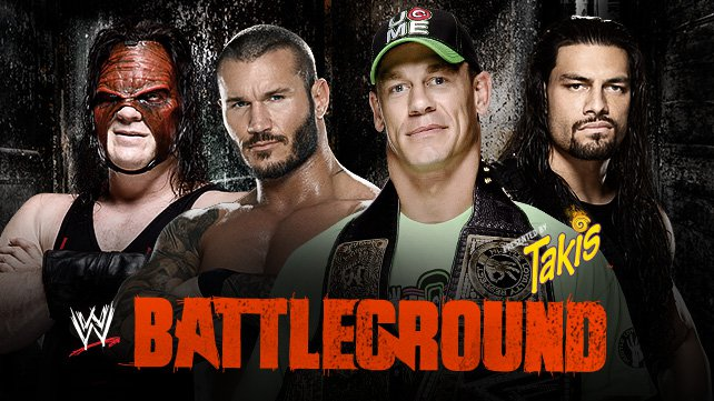 Confirmed and Potential Matches for WWE Battleground 2014 20140715_Battleground_Fatal4Way_no_Burst_LIGHT-HOMEPAGE