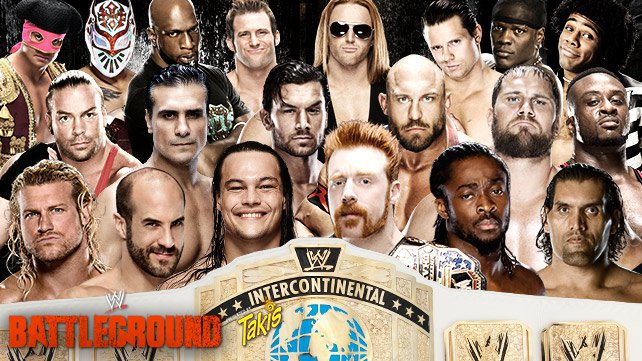 Confirmed and Potential Matches for WWE Battleground 2014 20140715_Battleground_IntercontinentalUpdate_LIGHT_HP_2