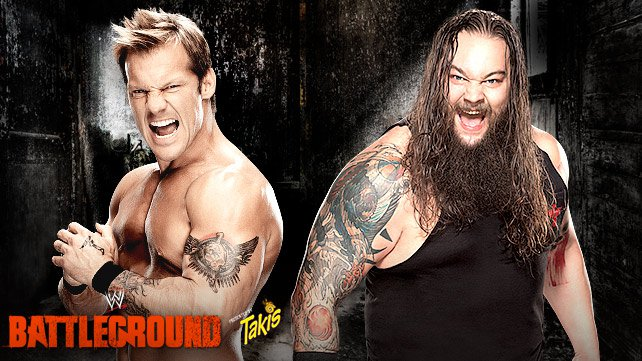 Chris Jericho vs. Bray Wyatt at WWE Battleground 2014