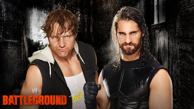 Dean Ambrose vs. Seth Rollins at WWE Battleground