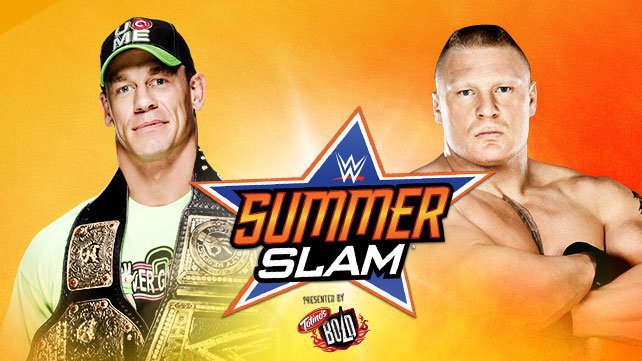 WWE World Heavyweight Champion John Cena vs. Brock Lesnar at SummerSlam 2014