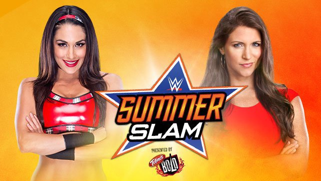 Brie Bella vs. Stephanie McMahon at SummerSlam 2014