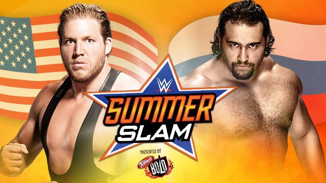 Jack Swagger takes on Rusev in a Flag Match at SummerSlam