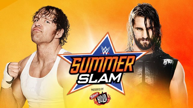 Dean Ambrose vs. Seth Rollins at SummerSlam 2014