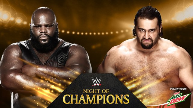 Mark Henry vs. Rusev at Night of Champions 2014
