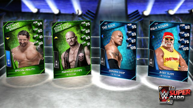 WWE SuperCard Exceeds 1.5 Million Downloads in First Week