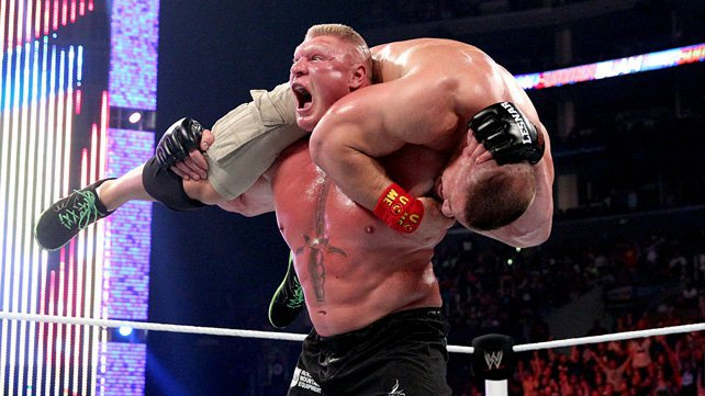 Brock Lesnar def. WWE World Heavyweight Champion John Cena ... Wwe John Cena World Heavyweight Champion 2014
