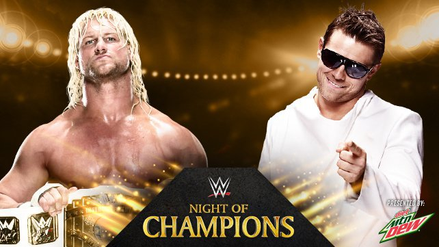 Intercontinental Champion Dolph Ziggler vs. The Miz