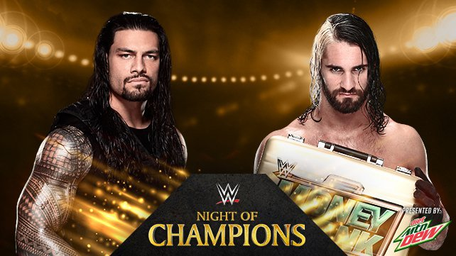 Roman Reigns vs. Seth Rollins at Night of Champions 2014 on WWE Network