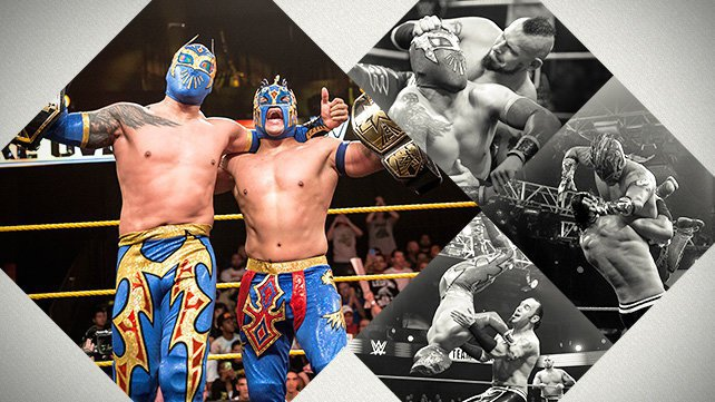 Dragons Lucha Wwe