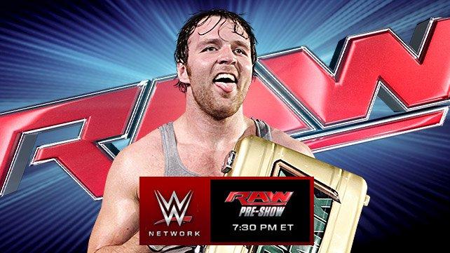 WWE RAW 29/09/2014: Zapowiedź