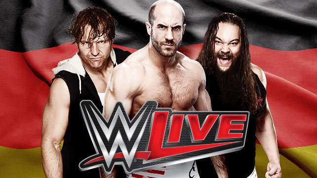 wwe live tour kommt nach deutschland. Black Bedroom Furniture Sets. Home Design Ideas