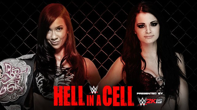 Confirmed and Potential Matches for WWE Hell in a Cell 2014 20141013_EP_LIGHT_HIAC_AJ_PAIGE_HOME