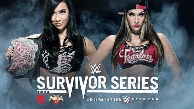 Confirmed and Potential Matches for WWE Survivor Series 2014 20141103_EP_LIGHT_SurvivorSeries_AJ_Nikki_HP