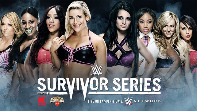 Confirmed and Potential Matches for WWE Survivor Series 2014 20141103_EP_LIGHT_SurvivorSeries_Match_NattyAliciaNaomiEmma_PaigeCameronSummerLayla_HP
