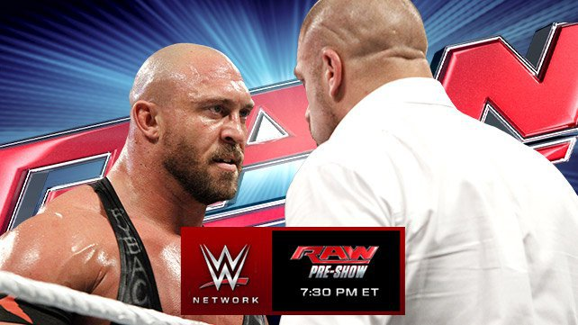 WWE RAW: Ryback's Next Move (November 17, 2014) - Wrestling Forum ...