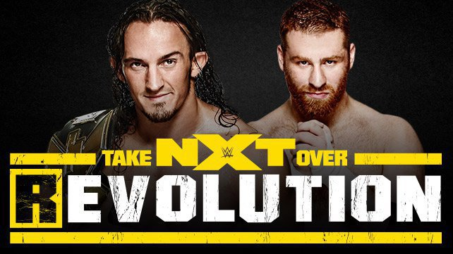 Първи мач за NXT TakeOver: [R] Evolution