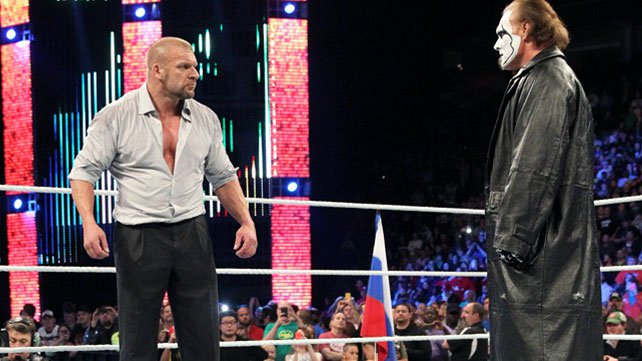 Sting vs HHH en Wrestlemania 31?
