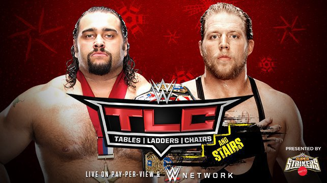 U.S. Champion Rusev vs. Jack Swagger at WWE TLC
